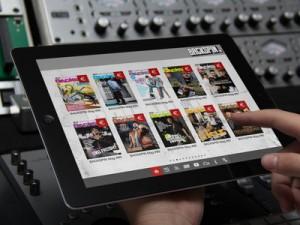 Auswahl aus allen Backspin-Magazinen in der page2flip-App