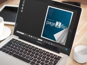page2flip auf dem Desktop