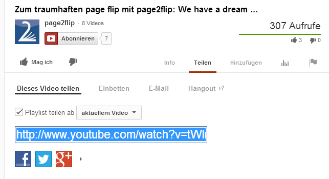 Youtube Videos einbinden